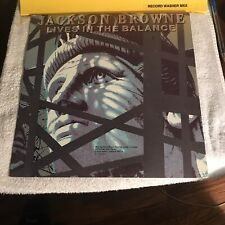 JACKSON BROWNE~Lives in the Balance LP~RCA Club~R144295~86 ASYLUM~PLAYS NM~VG+