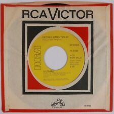 GEORGE HAMILTON IV: Suzanne USA RCA DJ Promo Leonard Cohen Cover 45 HEAR