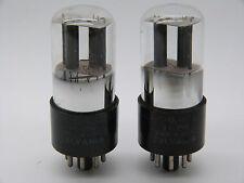 COPPIA sottoposto a misurazione SYLVANIA vt229/6sl7gt/matched pair of SYLVANIA vt229/6sl7gt