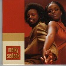 (CW100) Melky Sedeck, 5 track, Raw / Shake It - 1998 DJ CD