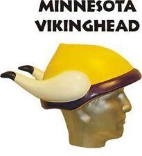 """NFL Foam Hat """"Viking Head"""", Minnesota Vikings, NEW"""