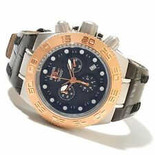 Invicta 10850 Subaqua Sport Chronograph Black Carbon Fiber Dial Mens Watch