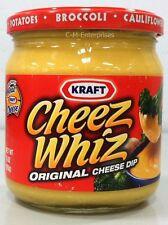 Kraft Cheez Whiz Original Cheese Dip 15 oz