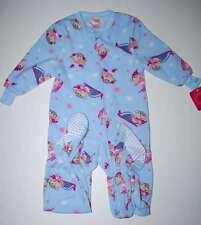 NWT Footed Monkey Fleece Blanket Sleeper Pajamas XS 4/5