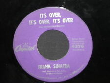 "Frank Sinatra ""It's Over, It's Over, It's Over/River, Stay 'Way From My Door"" 45"