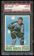 1970 OPC #166 Ted Harris *North Stars* PSA 9 MINT Cert #31151870