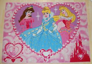 DISNEY Prinzessin teppich  SPIEL Jewels P19 95x133cm