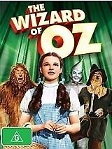 THE WIZARD OF OZ-Judy Garland-Region 4-New AND Sealed