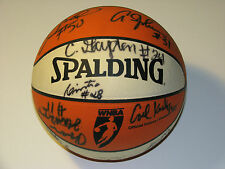 WNBA Orlando Miracle Team Autographed Basketball