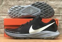 NIKE AIR ZOOM TERRA KIGER 5 TRAIL SHOES HIKING AQ2219-001 BLACK / GREY NEW MENS