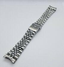 22mm Solid Stainless Steel Jubilee Watch Bracelet Fits SEIKO SKX007/SKX009/011