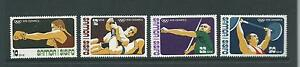 1976 Olympics  Set 4 Complete MUH/MNH SG 470 - 473