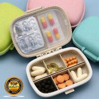 8 Gitter Pillendose Pillenbox Medikamentenbox Tablettenbox Medikamentendosierer