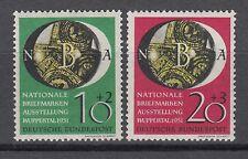 Bund 141-142 ** postfrisch Briefmarkenausstellung NBA in Wuppertal