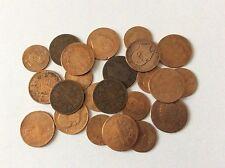 Lot de 23 pièces anciennes en Bronze Italie