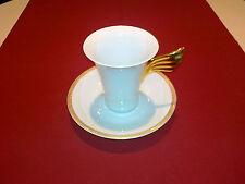 Rosenthal porcelana versace medallon Meandre d 'or taza de café 2-tlg nuevo