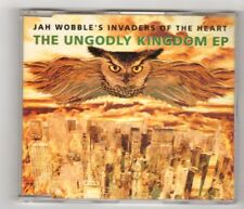 (IK221) Jah Wobble's Invaders Of The Heart, The Ungodly Kingdom EP - 1992 CD