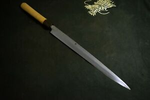 Japanese Chef / Kitchen knives Tsukiji Masamoto Yanagiba 270mm from Japan 1965