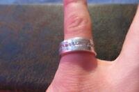 Bezaubernder Massiver Silber 925 Sterling Ring Halb Memory Zirkonia S. Oliver