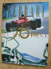 FERRARI DI PASSIONE 50 YEAR  ANNIVERSARY  1947-1997  POSTER 80 x 60 cms