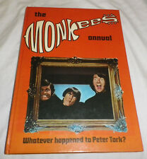 THE MONKEES ANNUAL, 1968, NO PRICE CLIPPING 12'6 NEAR MINT COLLECTORS
