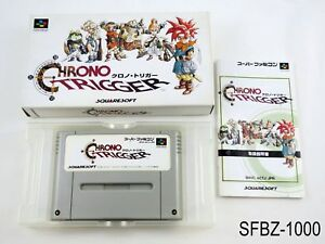 Complete Chrono Trigger Super Famicom Japanese Import JP SFC Japan J US Seller