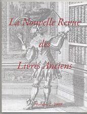 NOUVELLE REVUE DES LIVRES ANCIENS N°2 BIBLIOPHILIE ISIDORE LISEUX GEOFROY TORY
