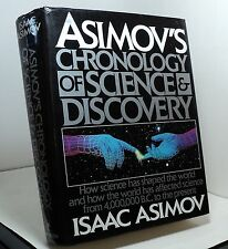 Asimov's Chronology of Science and Discovery by Isaac Asimov -1989 - fb