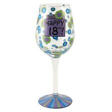 Our Name is Mud ONM4017986 18th Birthday Wine Glass