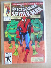 THE SPECTACULAR SPIDER MAN n°185 1991 Marvel Comics  [SA40]