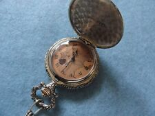 World Mechanical Wind Up Pocket Watch Route of Columbus to the New