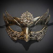 2016 Steam Punk Gold Masquerade Mask Mardi Gras Party Prom Ball Women Mask