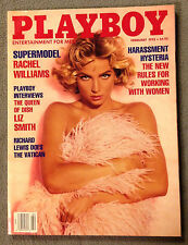 PLAYBOY MAGAZINE -FEBRUARY, 1992 ISSUE -Rachel Williams, Tanya Beyer