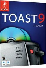 Roxio Toast 9 Titanium MAC CD manage transfer digital media computer data files!