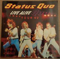 Status Quo - Live Alive Quo Tour 1992 tour programme