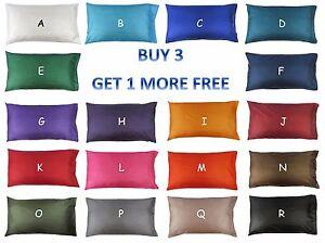 KING SIZE Silk Pillowcase Slip Cover  Light Soft & Luxurious Bedding 16 colors!