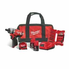 Milwaukee M12CD-202C 12v Fuel Screwdriver 2 X M12B2 Batteries Charger Bag Access