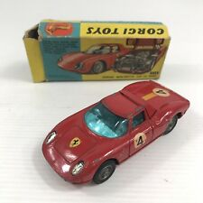 Corgi Toys No. 314 Ferrari Berlinetta 250 Le Mans Boxed Box A/F Damaged
