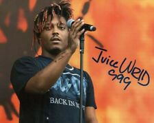 JUICE WRLD SIGNED AUTOGRAPHED 8x10 PHOTO RAPPER GOODBYE & GOOD RIDDANCE reprint