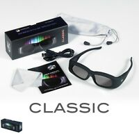 1 Pair Universal Rechargeable 3D Active Shutter Glasses for Panasonic TY-ER3D4ME