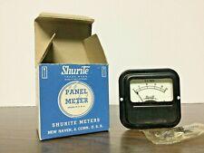 Vintage Shurite Panel Meter Stock 9109 Model 950 0 25 Vdc