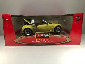 1/18 BURAGO Voiture Miniature SMART ROADSTER COUPE
