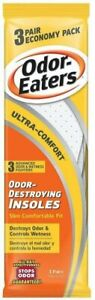 Odor-Eaters Ultra Comfort Odor-Destroying Insoles - One Size Fits All ( 3 Pair )