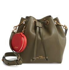 Marc Jacobs Bucket Bag Leather Crossbody Bag Green