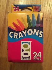 Merchandise 60154414 Geddes Crayons Case Count 24