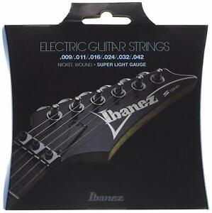 Ibanez Japan IEGS6 Electric Guitar Strings 6 String Super Light Gauge