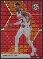 2019-20 Panini Mosaic RED Mosaic PRIZM #138 Deandre Ayton Phoenix Suns