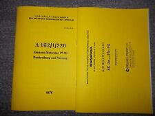 Beschreibung NVA & Ersatzteilkatalog MOTORKETTENSÄGE DOLPIMA BK-3A Mod. PS-90