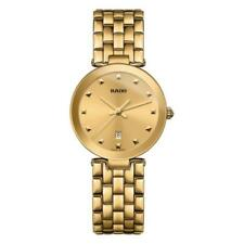 Rado Women's Gold Plated Band Wristwatches