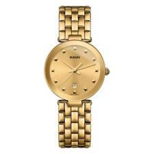 Rado Women's Gold Plated Case Wristwatches